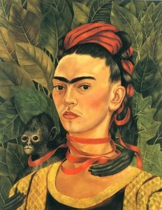 Frida Kahlo autoritratto
