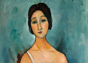 Amedeo Modigliani Christina