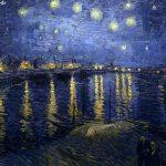 Vincent van Gogh notte stellata