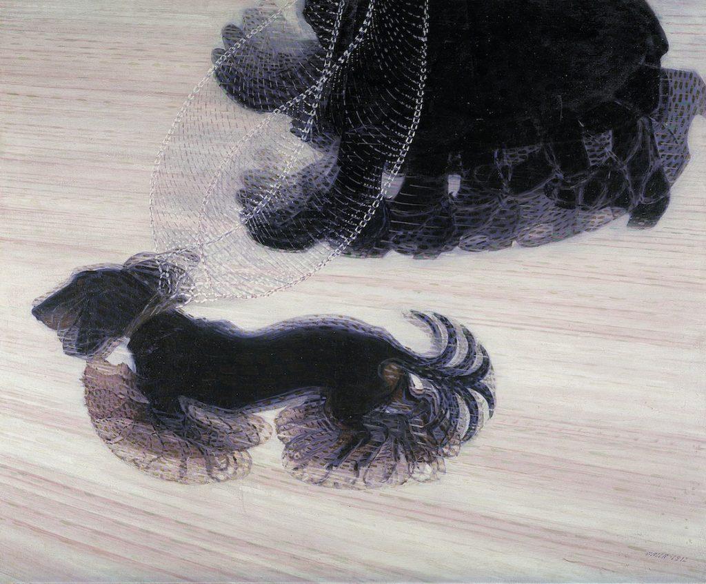 Giacomo Balla 1912 Dinamismo di un Cane al Guinzaglio