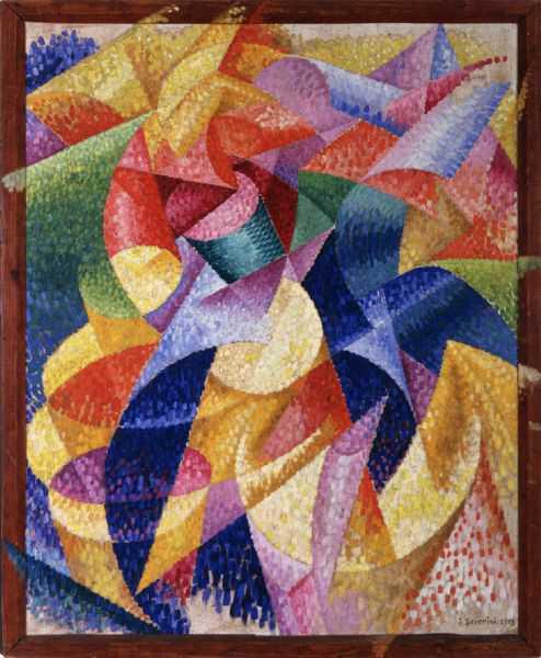 Mare = Ballerina, Gino Severini (1914)