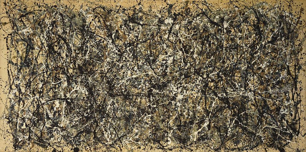 arte astratta: Jackson Pollock. One: Number 31, 1950.