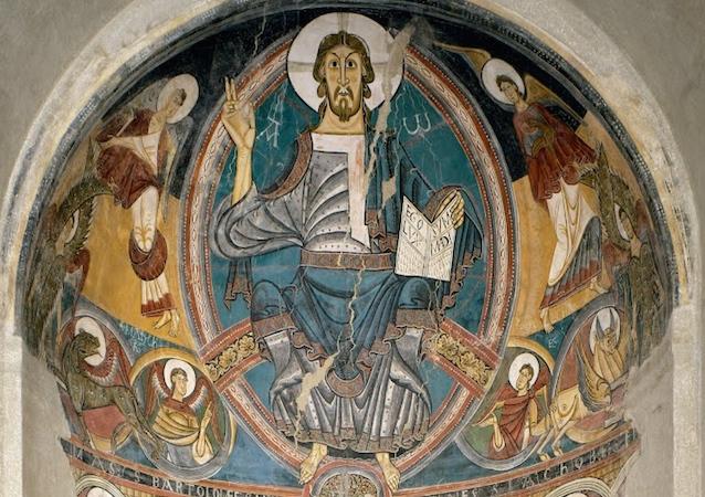 un dipinto romanico